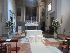 www.lecerimonie.it addobbo floreale per  il rito nuziale