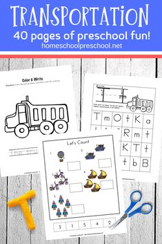 Preschool Transportation Worksheets Check out these FREE preschool transportation theme printables! These free preschool printables are full of preschool math and preschool literacy activities. They're perfect for your homeschool preschool lessons! Transportation Preschool Activities, Transportation Worksheet, Preschool Learning Activities, Free Preschool, Preschool Printables, Preschool Themes, Lesson Plans For Toddlers, Preschool Lesson Plans, Construction Theme Preschool