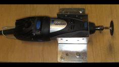 How to make a Dremel drill holder video Dremel 300, Dremel Drill, Step Drill, Drill Holder, Tool Shop, Box Guitar, Diy Tools, Hanger, Woodworking