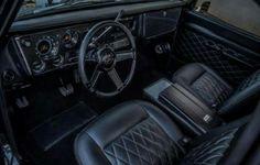 67 72 Chevy Truck, Chevy C10, Chevy Pickups, C10 Trucks, Hot Rod Trucks, Pickup Trucks, Gmc Pickup, Custom Car Interior, Truck Interior