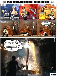 Just a Rammstein comic.