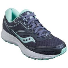 cd1d8edbf607 Saucony Cohesion 12 Running Shoes for Ladies - Slate Mint - 11M