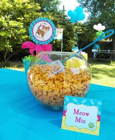 Dogs/ Cats/ Pets Birthday Party Ideas | Photo 1 of 30 | Catch My Party