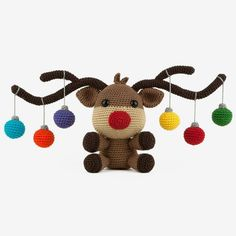 The Amigurumipatterns.net Ami-Along is a fun monthly event where a large group of crocheters work on the same project during a limited time. This month's project is Christmoose by designer Sabrina Somers. Join now!