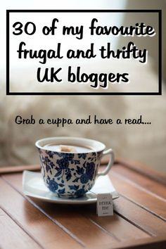 A few of my favourite UK frugal and thrifty bloggers….