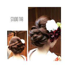 いいね!39件、コメント4件 ― Decollte_hairandmakeupさん(@decollte_weddingstyle)のInstagramアカウント: 「studio TVB Kyoto 祇園ロケーション hair make : k.fujiwaka…」 Wedding Hair And Makeup, Wedding Beauty, Bridal Makeup, Bridal Hair, Hair Makeup, Graduation Hairstyles, Bride Hairstyles, Soft Updo, Japanese Wedding