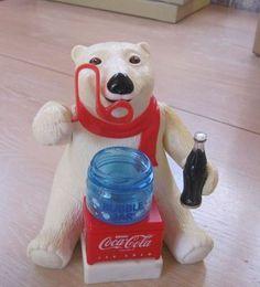 Coca Cola Bubble Blowing Bear