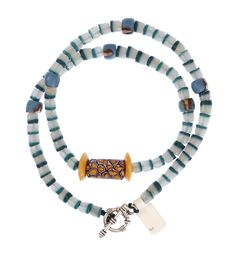 Colorful Necklace with Trade Beads #1352 | Necklaces | Jewelry — Deco Art Africa - Decorative African Art - Ethnic Tribal Art - Art Deco