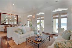 Coastal Interiors. Amazing Coastal Interiors! Love the #coastal #interiors in this Beach House!