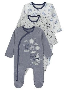 Disney Winne the Pooh 3 Pack Sleepsuits, read reviews and buy online at George at ASDA. Shop from our latest range in Baby. Whether they dream of flying ball...