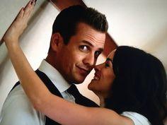Harvey Specter, please stop being so cute.