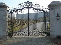 Wrought Iron Gates www.kowartpodhale.com