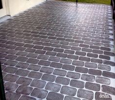 I did this to my patio floor about three months ago, but I'm scatter-brained and forgot to share it with you all! I also couldn't ever seem ...