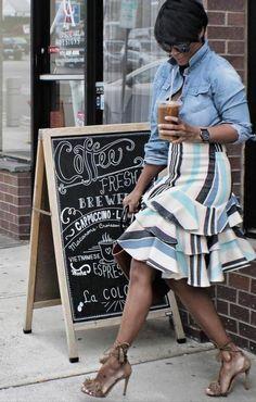 Skirt is too cute
