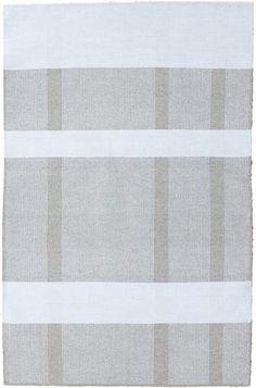 Kilroy Serena kelim tæppe i sand - 120111174-170 x 240 cm. - Din tæppekæde.dk