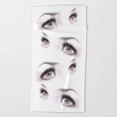 #eyes #minimalist #towel #beach #bath #home