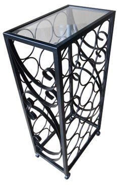 18 Bottle Free Standing Outdoor Wine Rack
