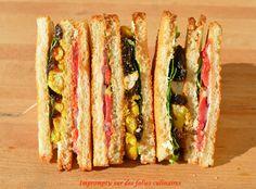 Club Sandwich Croustillant façon street Food {Battle Food 11}