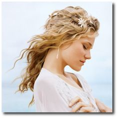 Summer and Spring Wedding Hairstyles 2011 Braided Hairstyles For Wedding, Wedding Hairstyles For Long Hair, Summer Hairstyles, Pretty Hairstyles, Wavy Hairstyles, Funny Hairstyles, Formal Hairstyles, Hairdos, Damp Hair Styles
