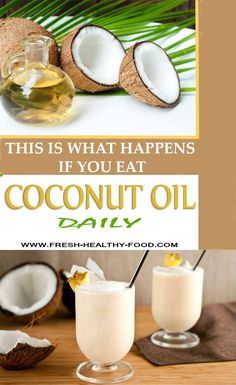 Coconut oil can be listed in a group of foods that have amazing effect on human organism. Although the opinion about how really healthy this fruit really is divided, some scientific researches proved that if you give your organism 1-2 spoons of coconut oil it will have amazing effect on your organism.