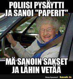 Poliisi pysaytti ja.. Funny Pick, Wtf Funny, Funny Memes, Jokes, Funny Nurse Quotes, Nurse Humor, Work Memes, Work Humor, Nursing Memes