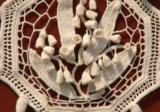 Ravelry: sallymag's Antique lily of the valley crochet hanging.