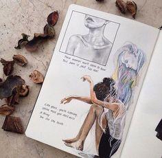 Fabulous Drawing On Creativity Ideas. Captivating Drawing On Creativity Ideas. Sketchbook Inspiration, Art Journal Inspiration, Art Sketchbook, Art Inspo, Sketchbook Tumblr, Journal Ideas, Art Sketches, Art Drawings, Art Et Design