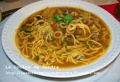 La Cocina de Sandra: Sopa de Carne de Res y Fideos