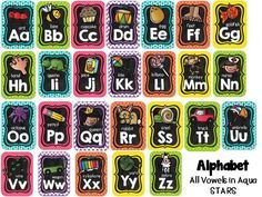 Rainbow Brights Chalkboard Kids... AND a FREEBIE!!                                                                                                                                                                                 More