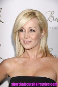 perfect long blonde hair color  | Summer Short Haircuts for Blonde Hair | 2013 Short Hairstyles Trends