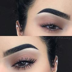 This brow is kind of strong but I like the eyeshadow!