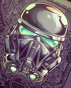 """667 Likes, 1 Comments - Juan Ma Orozco (@jml2art) on Instagram: """":3 can't wait to see Rogue One! only 10 days more #rogueone #starwars #stormtrooper…"""""""