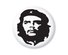 Wear these Che Guevara Black & White Button Badges and release a little bit of the freedom fighter in you.These trendy pin badges are seen on many a student's lapel.