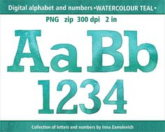 Diamond And Silver Alphabet Letters And Numbers Clip Art Digital