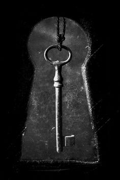 The Key to my heart has a new lock and key Key I black and white by Dark Romance Under Lock And Key, Key Lock, Antique Keys, Vintage Keys, Black N White, Black And White Pictures, Old Keys, Knobs And Knockers, Key To My Heart