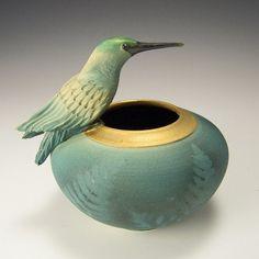 Resting Hummingbird Bowl