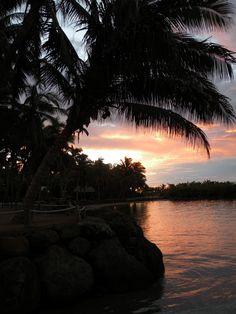 Fiji Sunset.