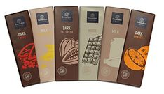 Luxury Chocolate Bars: 6 Quality Belgian Milk, White & Dark Chocolate Bars From World Famous Leonidas, 6 Flavours (380g): Amazon.co.uk: Grocery