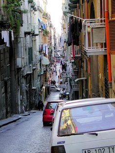Via Pasquale. Napoli