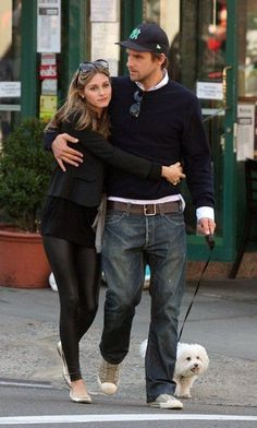 Perfect including dog! OLiViA PaLeRmO & JoHaNnEs HuEbL !!!!!!!!  #richfashion #unique #style #streetstyle
