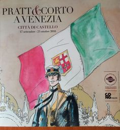 """Pratt & Corto a Venezia"" exhibition catalogue + portfolio - W.B."
