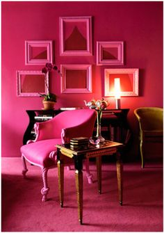 arch in frames..pink..