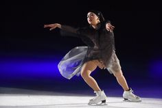 "Reigning World Champion Mao Asada in her new ""Let it Shine.."" Exhibition Program ・ ""The Ice 2014"" White Ring, Nagano ・ July 19, 2014 ・ #MaoAsada #浅田真央 #THEICE"