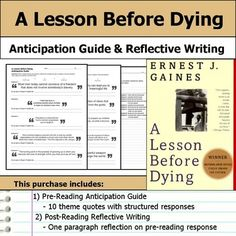 A lesson before dying essay topics