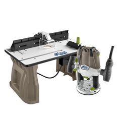 1.75-HP Variable Speed Plunge Corded Router with Table