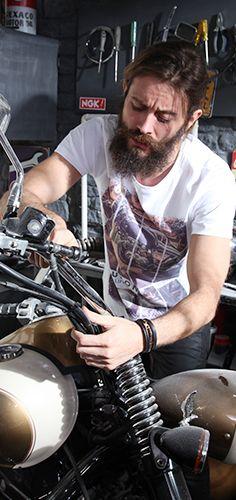 #tiburon #tiburontee #tshirt #menswear #design #tiburonterra #trend #dope #style #motorcycle