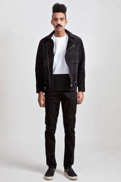 Our Legacy High Rider Suede Jacket @ $745