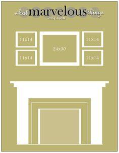 Photo Wall Display Template