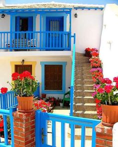 @DuluxDecCentre #DDCColour Gorgeous Colours Of #Greece By Jane Holyhead  #Colour