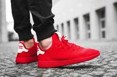 Pharrell x adidas Originals Tennis HU: Red